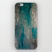 swimming iPhone & iPod Skins featuring Swimming by Kellie Morley