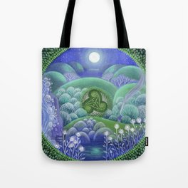 Triskelion Nightly Stillness Tote Bag