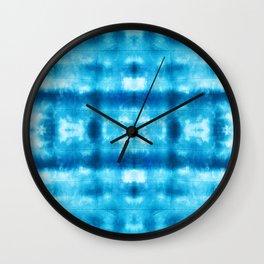 Bohemian Shibori Tie dye Wall Clock