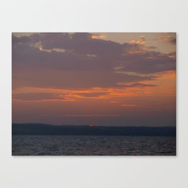 Last Peak at the Sun Canvas Print