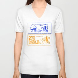 Classical or modern art (Splatoon) Unisex V-Neck