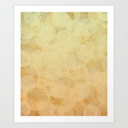 Pure Gold Art Print