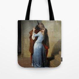Francesco Hayez - The Kiss Tote Bag
