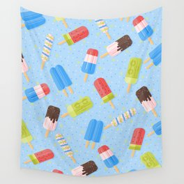 Popsicles Wall Tapestry