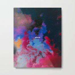 Espace Metal Print
