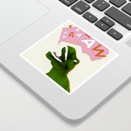 Dinosaur Raw! Sticker