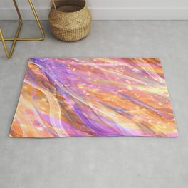 Metaphysical Energy Vibe Ethereal Abstract Rug