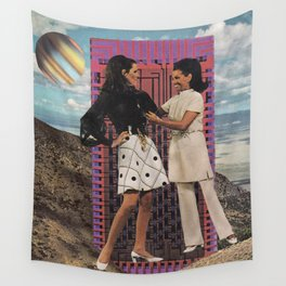 Superficial Space Wall Tapestry
