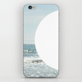 Not even the sun, Not even the moon ( - space ) iPhone Skin