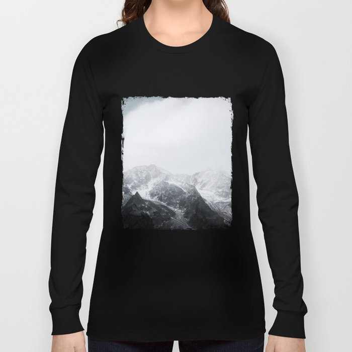 Morning in the Mountains - Nature Photography Long Sleeve T-shirt
