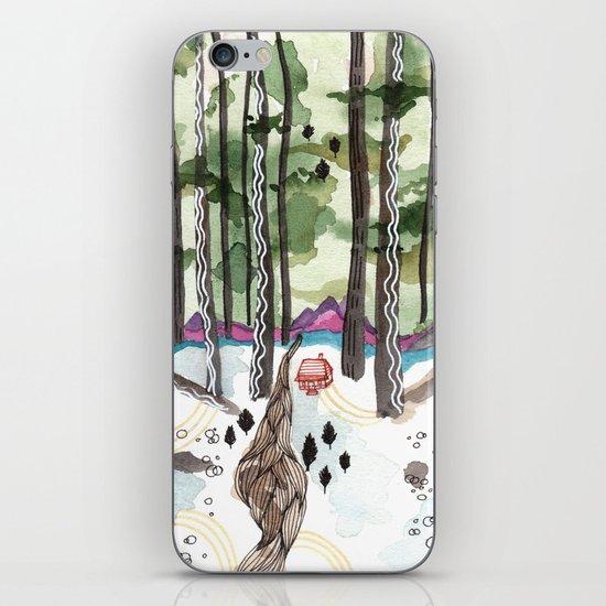 Bagby Trail iPhone & iPod Skin