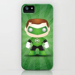 Green Lantern Superhero iPhone Case
