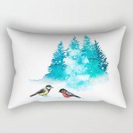 The Heart Of Winter Rectangular Pillow