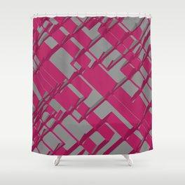 3D Futuristic BG Shower Curtain