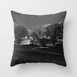 Mørket Kommer (Darkness Comes)  Throw Pillow