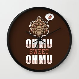 Ohmu Sweet Ohmu Wall Clock