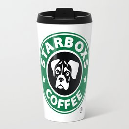 Starboxs Coffee - Boxer Coffee Logo Travel Mug