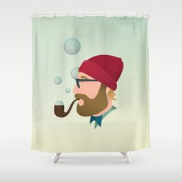 Soap bubble Hipster Shower Curtain