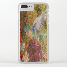 """"""" Hummingbirds """" Clear iPhone Case"""