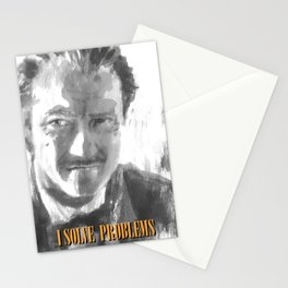 Winston Wolf in Pulp Fiction Stationery Cards