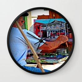 Locke On Canvas Wall Clock
