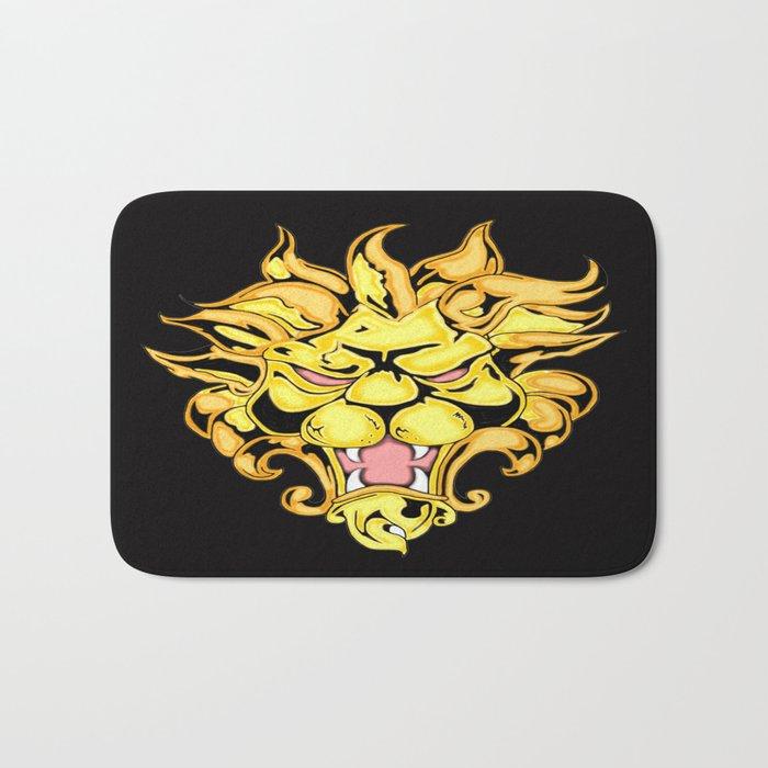 Golden Lion Bath Mat