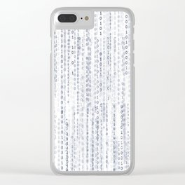 Pattern 76 Clear iPhone Case