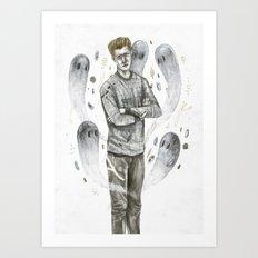 Heart Ghouls  Art Print