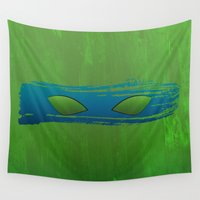tmnt Wall Tapestries featuring TMNT Leo by Some_Designs
