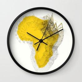 New Africa Wall Clock