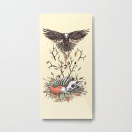 Eternal Sleep Metal Print