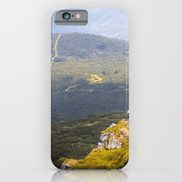 Above the abyss iPhone Case
