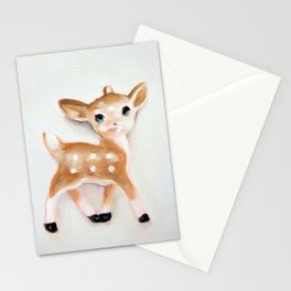 Vintage Toy Fawn Stationery Cards