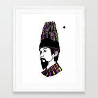 korea Framed Art Prints featuring Modern Korea by Matt Ferguson