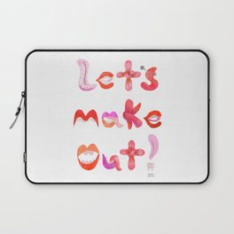 Let's Make Out! Laptop Sleeve