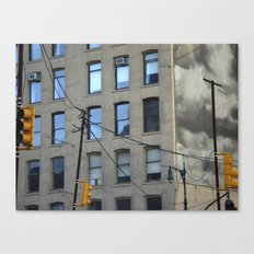 nyc clouds Canvas Print