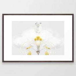 Lesser Framed Art Print
