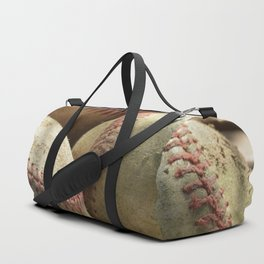 Baseballs and Glove Duffle Bag