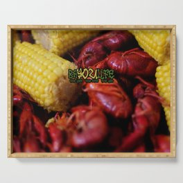 Bayou Life - Crawfish Boil Serving Tray