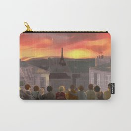 Les Amis ▬ Paris rooftops Carry-All Pouch