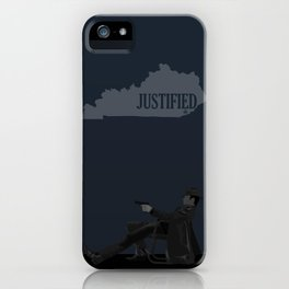 Justified - Gunslinger iPhone Case