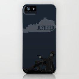 Justified - Gunslinger iPhone Case