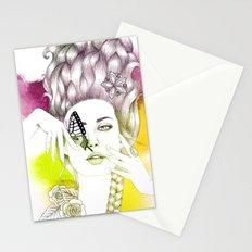 Butterfly Lady Stationery Cards