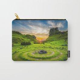 Fairy Glen Uig Isle of Skye, Scotland Carry-All Pouch