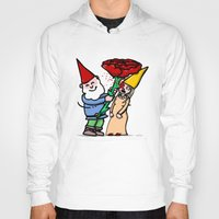 gnome Hoodies featuring Gnome Love by Stephan Brusche
