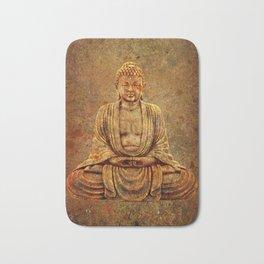 Sand Stone Sitting Buddha Bath Mat