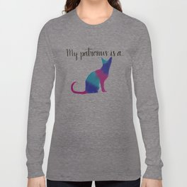 Cat Patronus Long Sleeve T-shirt