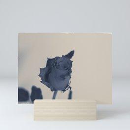 Blue rose Mini Art Print