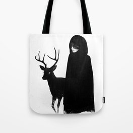 Absentia in white Tote Bag