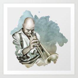 Blue Note - Jazz Art Print